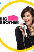Julie Chen holding Big Brother reality show key
